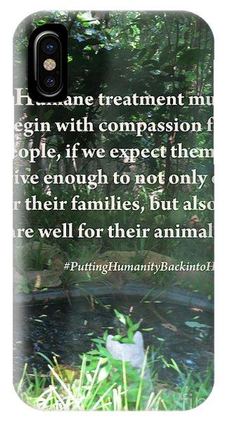 Compassion Quote IPhone Case