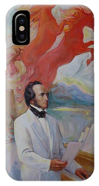 Composer Felix Mendelssohn IPhone Case