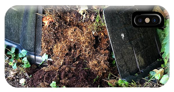 Organic Matter iPhone Case - Compost Bin by Gustoimages/science Photo Library