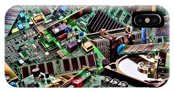 Computer Parts IPhone Case