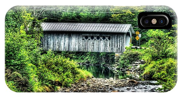 Comstock Covered Bridge IPhone Case