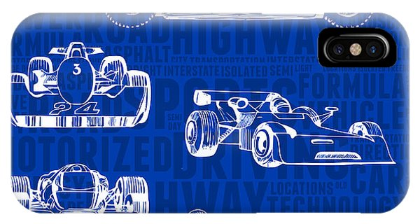 Concept-art Of Sports Cars IPhone Case