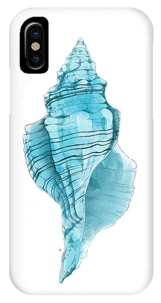 Beach iPhone Case - Conch by Randoms Print