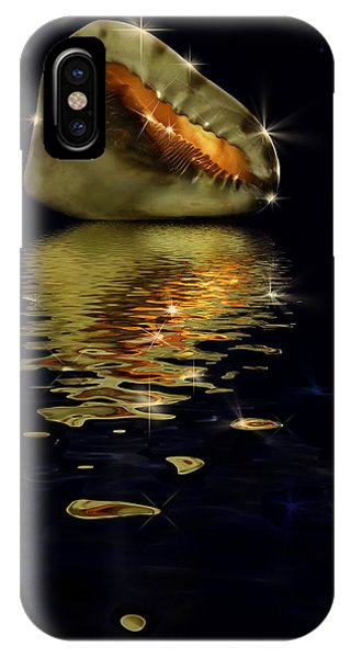 Conch Sparkling With Reflection IPhone Case