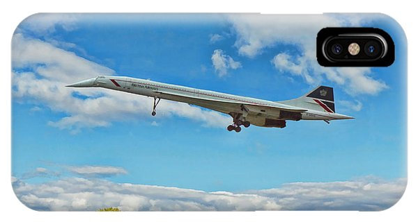 Concorde On Finals IPhone Case