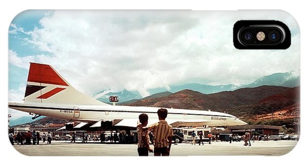 Concorde iPhone Case - Concorde In Venezuela by Nasa/lewis Research Center/science Photo Library
