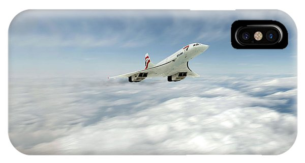 Concorde iPhone Case - Concorde Legend by J Biggadike