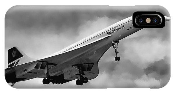 Concorde Supersonic Transport S S T IPhone Case