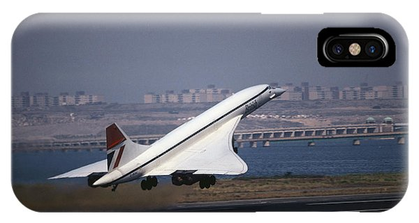 Concorde iPhone Case - Concorde by Tim Holt