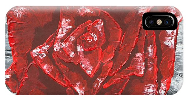 Concrete Rose  IPhone Case