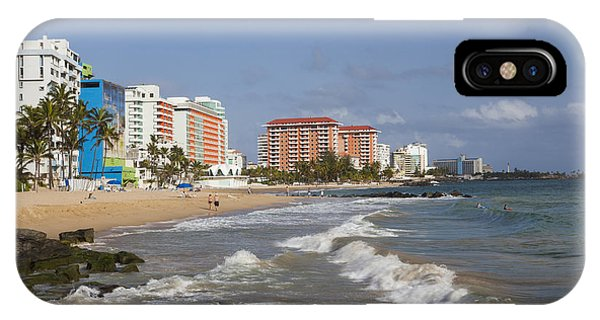 IPhone Case featuring the photograph Condado Beach San Juan Puerto Rico by Bryan Mullennix