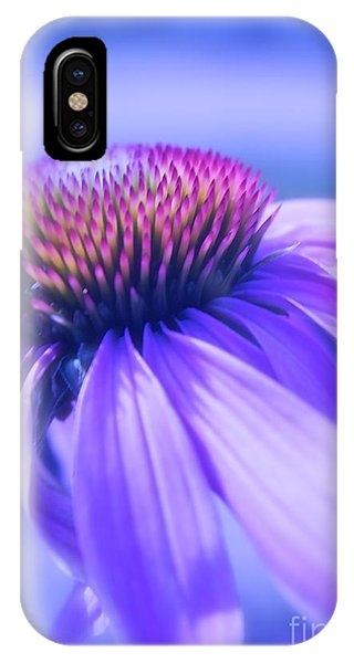 Cone Flower In Pastels  IPhone Case