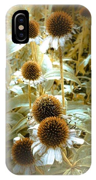 Cone Flowers IPhone Case