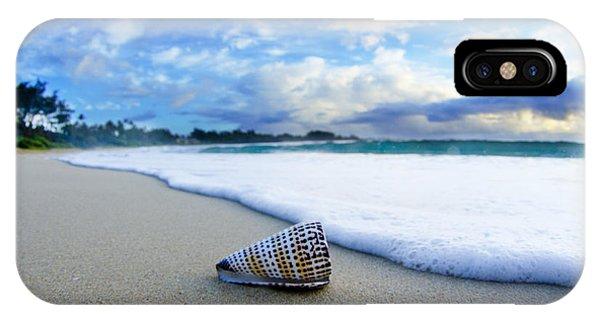 Ocean iPhone Case - Cone Foam by Sean Davey