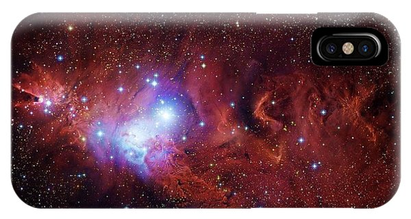 Cone Nebula And Christmas Tree Cluster IPhone Case