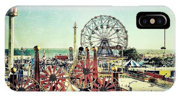 Coney Island Amusement IPhone Case