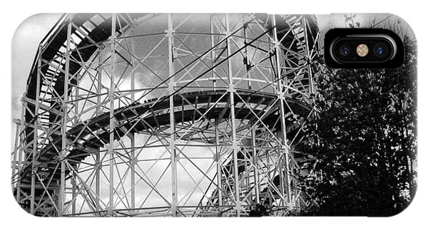 Coney Island Roller Coaster IPhone Case