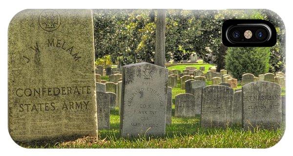 Confederate Graves IPhone Case