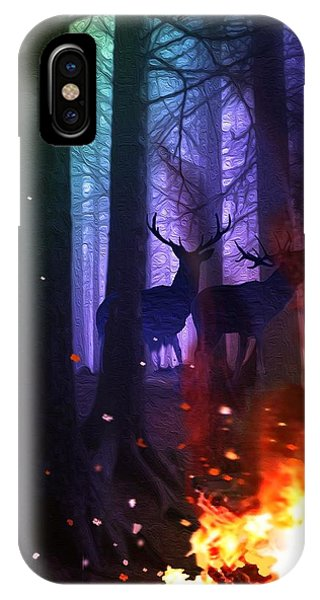 Conflagation IPhone Case