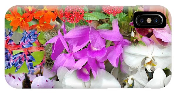 Confluent Flowers 10 IPhone Case