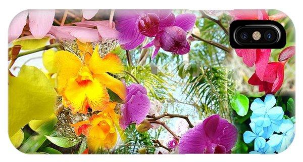 Confluent Flowers 11 IPhone Case