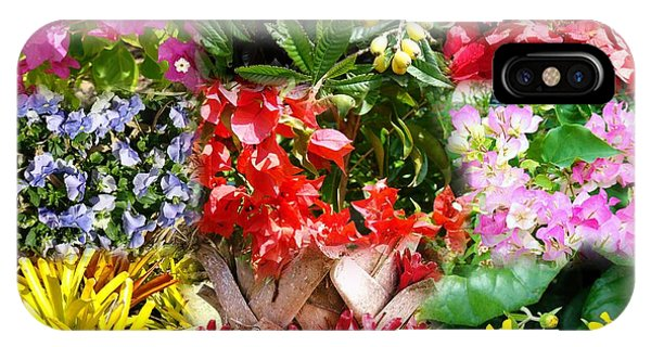 Confluent Flowers 8 IPhone Case