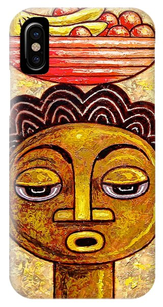 Congalese Face 1 IPhone Case