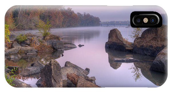 Congaree River At Dawn-1 IPhone Case