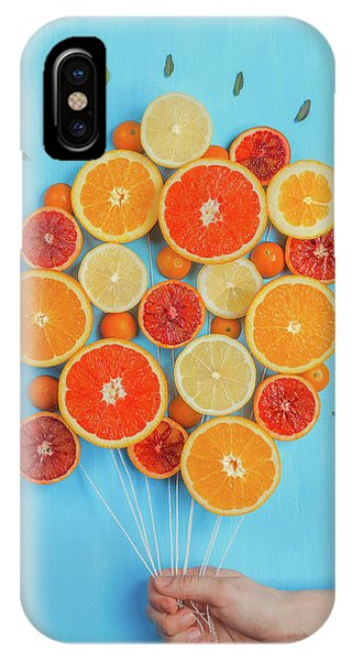 Grapefruit iPhone Case - Congratulations On Summer! by Dina Belenko