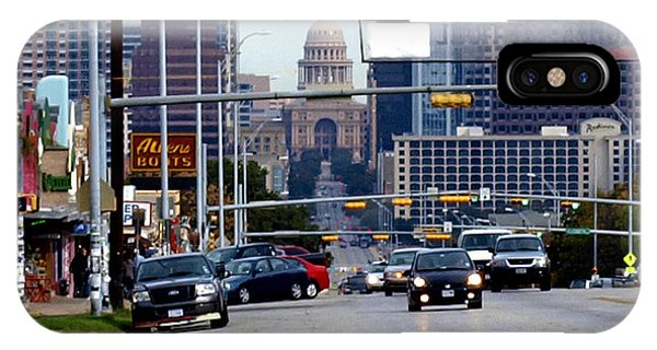 Congress Ave To The Capital IPhone Case