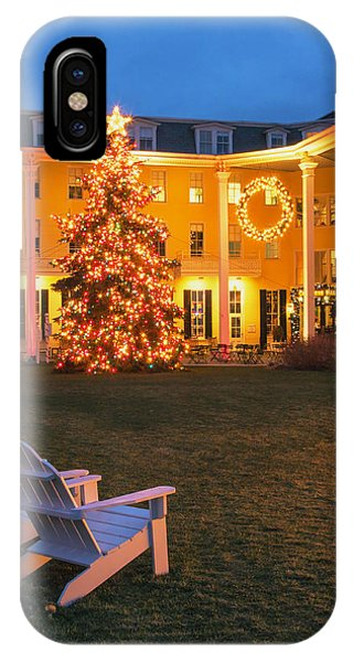 Congress Hall Christmas IPhone Case