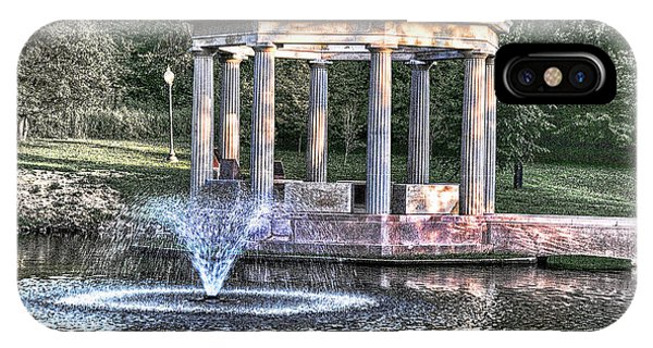 iPhone Case - Congress Park by George Fredericks