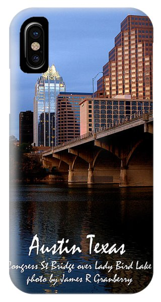 Congress St Bridge IPhone Case