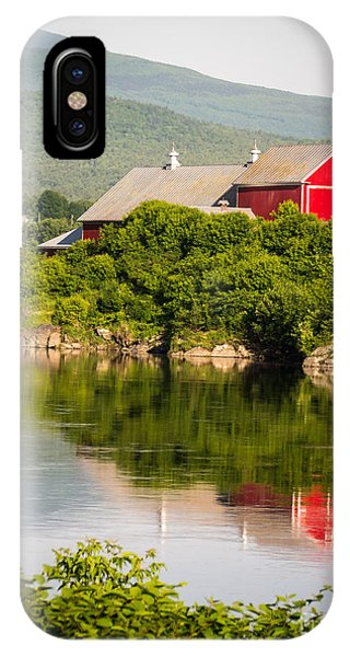 Connecticut River Farm IPhone Case
