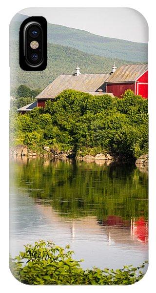 Connecticut River Farm IPhone Case