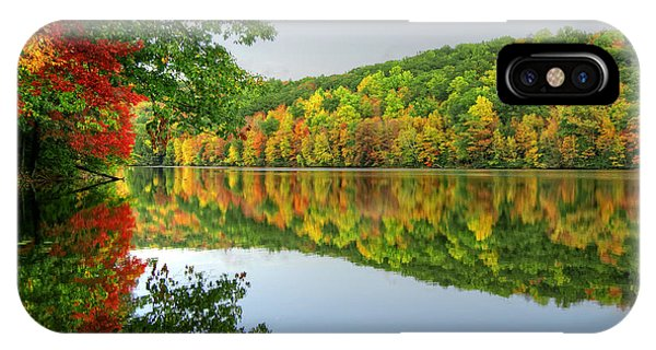 Connecticut River In Autumn IPhone Case