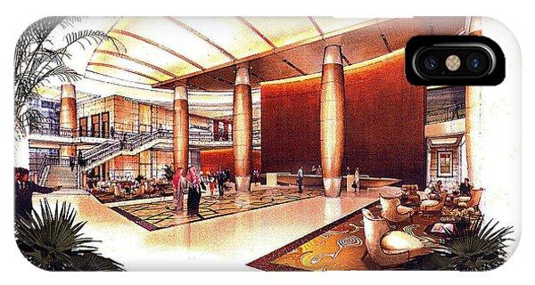 Conrad Hotel Dubai Phone Case by Jack Adams