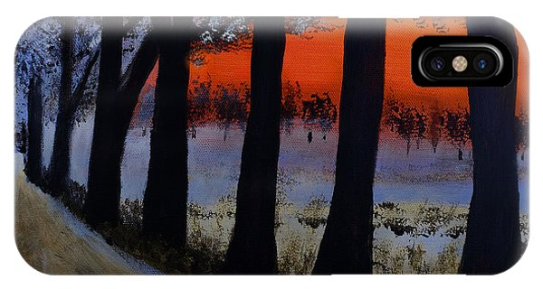 Conrad Road Sunrise IPhone Case
