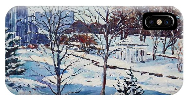 Rockford iPhone Case - Conservatory Winter by Ingrid Dohm