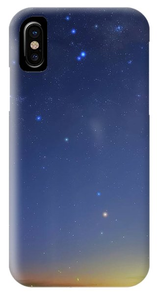 Constellations iPhone Case - Constellation Of Scorpius by Luis Argerich