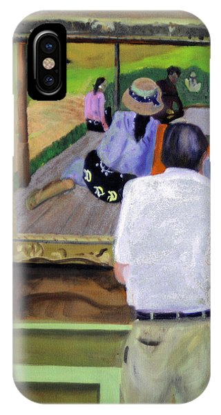 Contemplating Gauguin IPhone Case