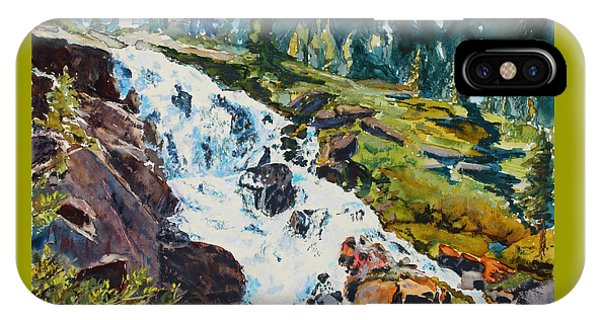 Continental Falls IPhone Case
