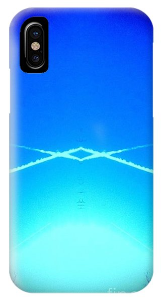 Contrail Pyramid  IPhone Case