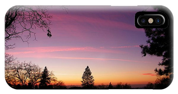 Contrail Streaks IPhone Case