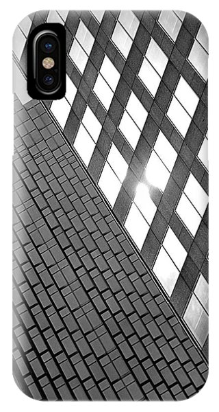 Contrasting Architecture IPhone Case