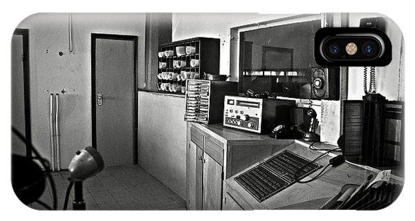 Control Room In Alcatraz Prison IPhone Case