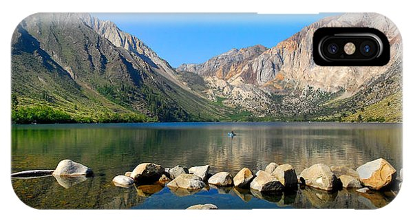 Convict Lake Panorama IPhone Case