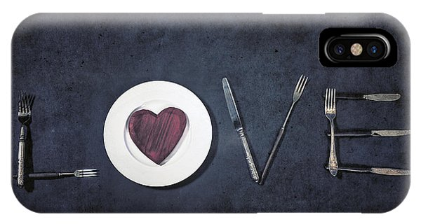 Valentine iPhone Case - Cooking With Love by Joana Kruse