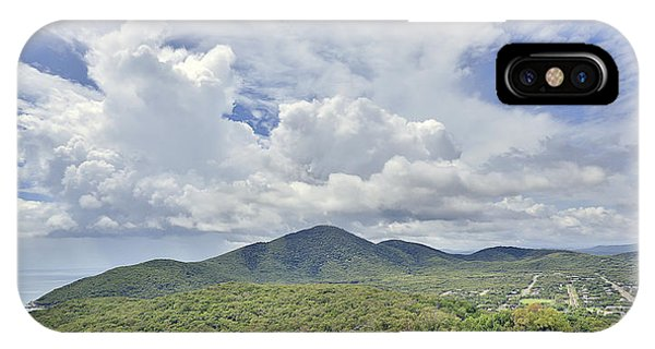 Far North Queensland iPhone Case - Cooktown Skies by Peter Dore
