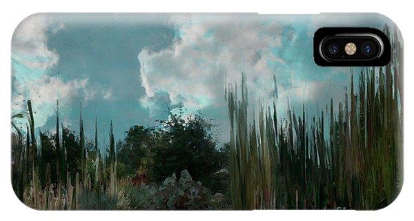 Sherri iPhone Case - Cool Blue Evening by Sherri's - Of Palm Springs